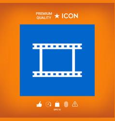 Camera roll photographic film camera film symbol vector