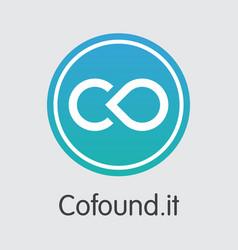 Cofoundit blockchain cryptocurrency cfi vector