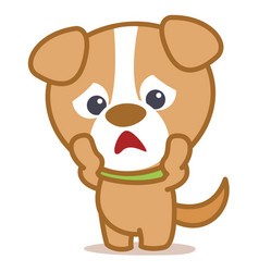 collection character dog pets vector image