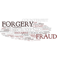 forgive word cloud concept vector image