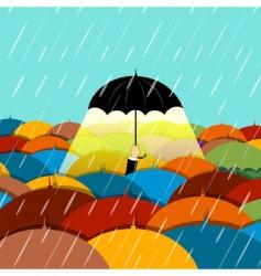 Raining season vector