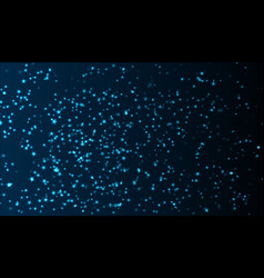 the blue luminous stars are scattered across the vector image