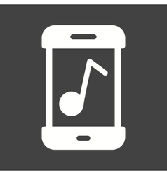Music mobile app icon image Can also be vector image