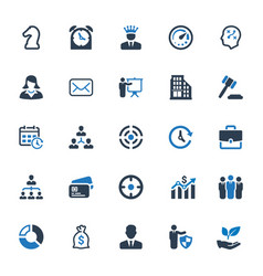 Business icons - set 4 vector