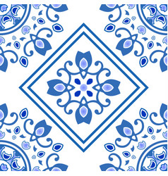 ceramic tile pattern vector image