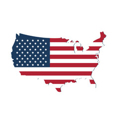 flag united states usa icon image vector image