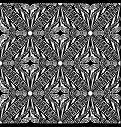 modern tribal geometric greek seamless pattern vector image
