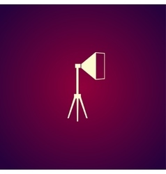 studio light icon vector image