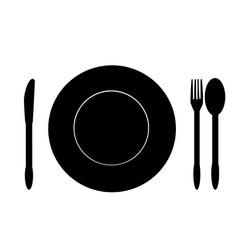 Food symbol vector image vector image