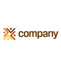 logo for legal company vector image