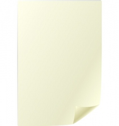 parchment sheet vector image vector image