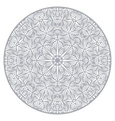 Mandala Ethnic decorative elements Round ornament vector image