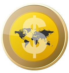 Money Coin vector image vector image