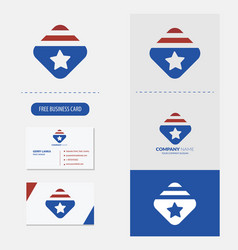 america logo premium vector image