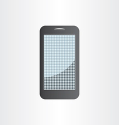 Android mobile phone design element tablet icon vector
