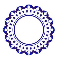 cute round design vector image