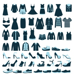 fashion clothing 2 38 vector image
