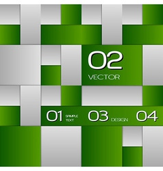 Green Layout vector image vector image