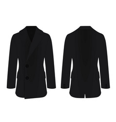 men elegant coat vector image