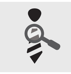 research staff icon vector image