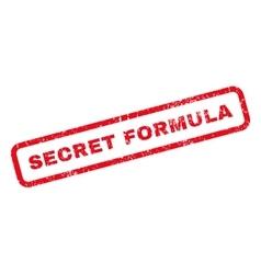 Secret Formula Rubber Stamp vector