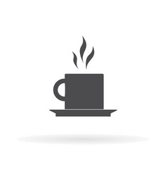 Tea icon for web business finance and vector