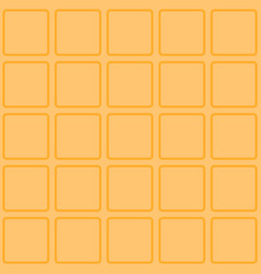 Waffle seamless texture vector