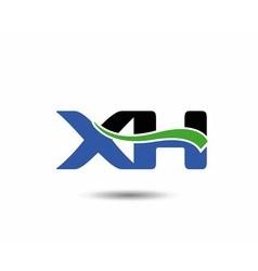 XH logo vector image