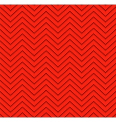Red seamless zigzag geometric pattern vector image