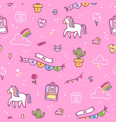 Awesome stuff pattern vector