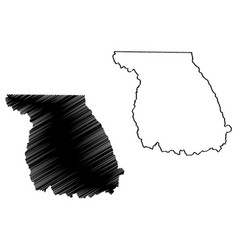 Jackson county colorado us county united states vector