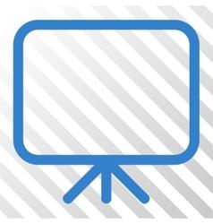 Presentation Screen Icon vector