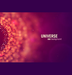 universe abstract background big data vector image
