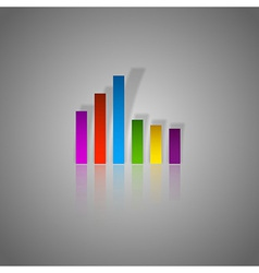 Colors Graph vector image vector image