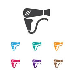 Of barbershop symbol on vector