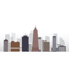 city 2 vector image vector image