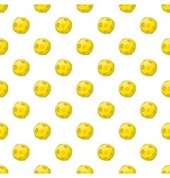 Moon pattern cartoon style vector image