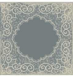vintage background card vector image vector image