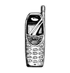Bar phone vector