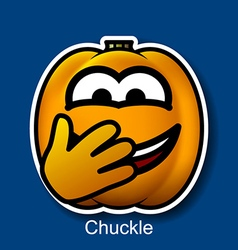 Chuckle vector image