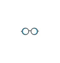 eye glasses icon design essential icon vector image