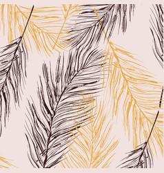 feather pastel decoration birds fur vector image