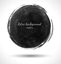 Grunge Round Shape vector