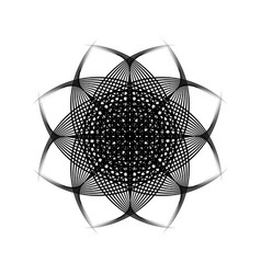 sacred geometry 0196 vector image