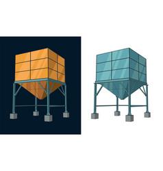 Silo storage vector