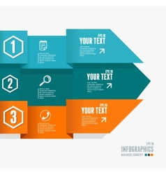 Text boxes infographics options banner vector