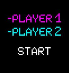 8 bit player vector