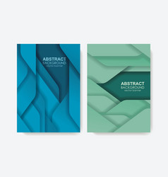 abstract design for banners or brochure covers vector image