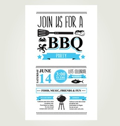 summer bbq invite vector images over 670