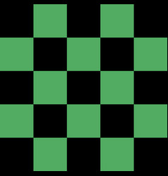 black and green checkered background vector image